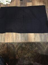 King Sized Navy Pillowcases (2)
