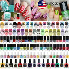 BORN PRETTY Nail Stamping Polish Kit Nail Art Stamp Plates Print Varnish DIY