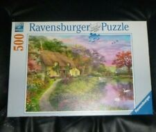 500 PIECE JIGSAW PUZZLE,COUNTRY HOUSE,RAVENSBURGER,2020,EXCELLENT CONDITION