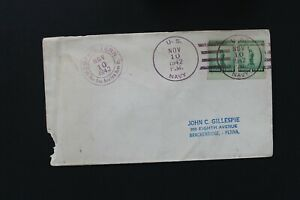 UNITED STATES 1942 Cover with U.S. Navy cancel