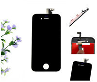 For Iphone 4S Front Touch Glass Digitizer+ LCD Assembly Replacement Black