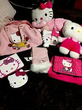 hello kitty plush Lot, I Pod Satchel,case, Coin Purse, Scarf, Plush,back Pack
