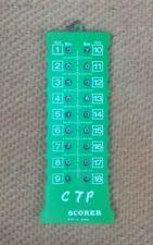 Vintage Golf Score Counter 18 Hole - Stroke Shot Keeper