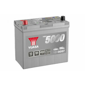 Batterie Yuasa Silver YBX5057 12v 50ah 450A Hautes performances