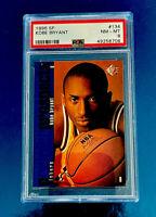 Kobe Bryant 1996 Upper Deck Rookie Card RC PSA 8 SP Prospects Lakers Legend