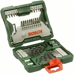 Bosch 43 Piece X-Line Drill and Screwdriver Bit Set (Wood & Metal) - Brand New