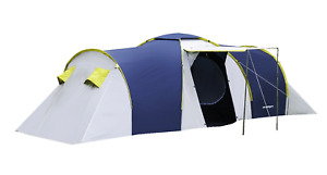 Tent for 6 Person Family Camping Hiking Outdoor Sleeping Gear Tents Shelter