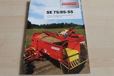 128789) Grimme Kartoffelerntemaschine SE 75 85-55 Prospekt 200?