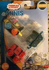 Thomas & Friends Minis Trains 3 Pack Ferdinand Neon Splatter Neon Crayon James