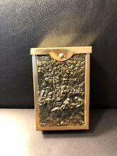 Antique Gold Tone Cigarette Holder