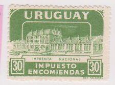 (UGA-176) 1960 Uruguay 30c green Parcel post (A)