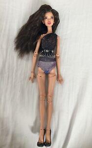 1/4 Doll BJD Puppe Augen Set Wig Face Make Up Outfit Füße Popovy Sisters Recast