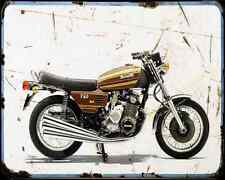 Benelli 750Sei 74 01 A4 Metal Sign Motorbike Vintage Aged