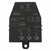 Rele interruttore ad impulsi 230 volt magnetico silenzioso Vimar quid 03991 new