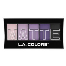 L.A. Colors Matte Eyeshadow - Purple Cashmere (Free Ship)