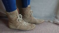 Inxert for Toast Flat Ankle Boots Size 40 UK 7 Good Condition