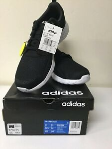 ADIDAS CF LITE RACER RUNNING COLOR BLACK/WHITE MENS SIZE 12- NEW (DB0594)