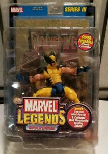 NEW Toybiz Marvel Legends Wolverine Series 3 with Gold Foil Poster