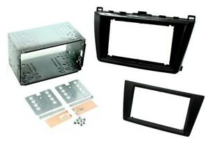 RADIO STEREO FACIA FASCIA CT23MZ10 FOR MAZDA 6 2011-2013 PIANO BLACK DOUBLE DIN