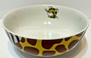 Enesco Nici Animal Print Bowl Cereal Soup Ice Cream