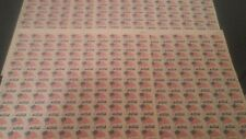 5c Flag Over White House Stamps Lot of 500 stamps Unused 1963 5 Sheets Of 100