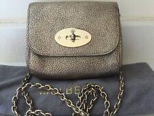 Mulberry metallic mushroom glossy goat leather mini lily shoulder crossbody bag