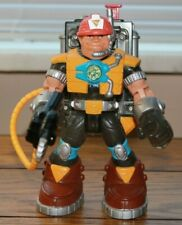 Fisher-Price Rescue Heroes Voice Team JACK HAMMER Figure w/ Video Backpack [B]