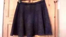 Topshop Denim Knee Length Women's Skirts