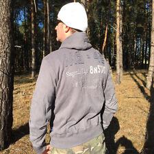 Militärjacke Hoodie grau,Armee Neu Gr.XXXL,Landser,MG 3,,MG 42 Soldat,Elite,b