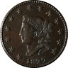 1822 Large Cent Choice XF+ N.4 R.2 Superb Eye Appeal Nice Strike