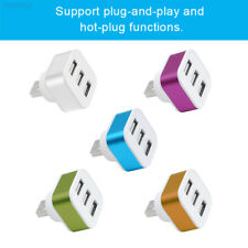 1BED USB2.0 Splitter HUB Phone Aluminium Alloy+ABS 3 Port Adapter