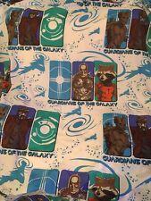 guardians of the galaxy flat twin sheet Fabric avengers comics