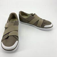 Keen Elsa III Gore Slip-On Sneaker Taupe Beige Women's Size 10.5