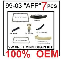 1999-2003 VW JETTA GOLF VR6 2.8 AFP TIMING CHAIN KIT AFP 7pcs *GENUINE OEM* KIT