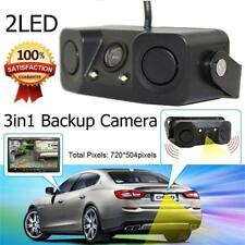 Car Rear View Camera with Radar Parking Sensor 170 Degree Viewing Angle HD YU