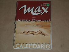 """CALENDARIO MAX """"1998""""ALESSIA MARCUZZI"""" FOTO DI ANDREAS H. BITESNICH IMPERDIBILE"""