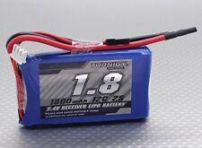 RC Turnigy 1800mAh 2S 12C Lipo Receiver Pack
