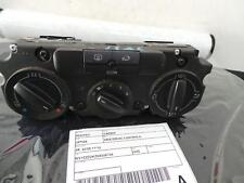 VOLKSWAGEN CADDY HEATER/AC CONTROLS 2K, 02/05-11/10 05 06 07 08 09 10
