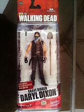 The Walking Dead TV Series 7 DARYL DIXON GRAVE DIGGER EXCLUSIVE RARE !!!!!!!!!!!