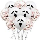 10pcs Halloween Balloons Halloween Party Decoration Confetti Balloons 12 Inch