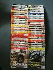 Der Reitwagen, 34 Hefte 1999-2019 Sammlung Motorrad Zeitschriften