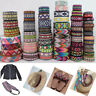 Jacquard Trim Braid Embroidered Ribbon Craft Sewing Retro Boho Ethnic Scandi