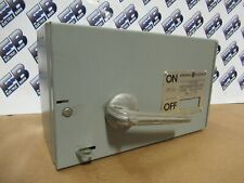 Ge Thfp361r Single 30 Amp 600 Volt 3p Fusible Type Qmr Switch Warranty