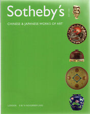 SOTHEBY'S / CHINESE AND JAPANESE WORKS OF ART  / LONDON 9 & 10 NOVEMBER , 2005