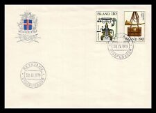 Iceland 1979 FDC, Europa CEPT XX. History Posts and Telecommunications. Lot # 4.