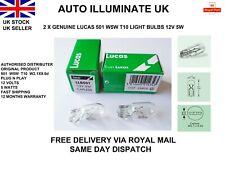 Lucas W5W T10 Car Capless Side Light Bulbs Lamp Indicator Wedge LLB501 12v 5w