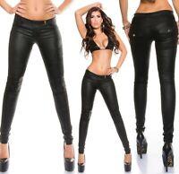 Women's Flap Pockets Slim Skinny Pant - S/M/L/XL