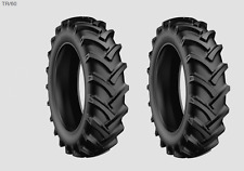 2 New Tires 13.6 24 Starmaxx R1 Tr60 8 Ply TT DOB Tractor Rear Ag Farm 13.6x24