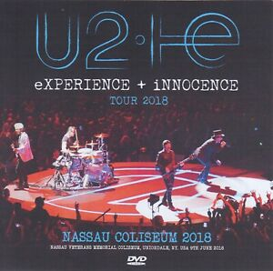 U2 live dvd Nassau  Full Live  ottimo audio imballato