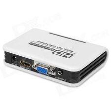 HD 1080P PC portable VGA +3.5 mm Audio Analogique vers HDMI HDTV Video Adaptateur Convertisseur